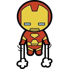 marvel iron kawaii superheroes easy drawings superhero drawing cartoon avengers chibi clipart super hero characters fathead cartoons dc draw comics
