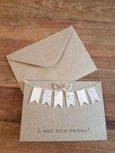 Handmade Birthday Cards, Diy Birthday, Happy Birthday, Diy Presents, Diy Gifts, Creative Box, Bday Cards, Bullet Journal Ideas Pages, Diy Invitations