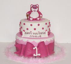 Lotso Birthday cake