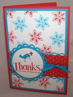 For Everything Thank You by saffivort - Cards and Paper Crafts at Splitcoaststampers