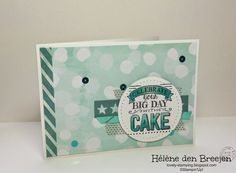 Stampin'Up! Big day, Sale-a-Bration by Hélène den Breejen