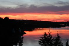 Fermata developed a nature tourism strategy for Maine around 2004-2005. I immediately fell in love with the state. Here is a sunset at Calais (look it up).