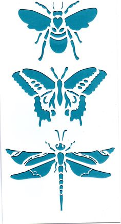 sjablonen diy canvas cut-out Stencils, Stencil Art, Bee Stencil, Stencil Patterns, Stencil Designs, Stencil Templates, Paper Art, Paper Crafts, Diy Crafts