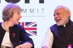 """Under the scheme, Indian nationals who frequently come to the U.K. and contribute to growth in both countries will face a 'significantly easier' entry process. """"Fewer forms to fill out, access to the EU-EEA passport controls, swifter passage through our airports — in short, more opportunities for Britain and India and a very clear message that Britain is very much open for business,""""  Ms. May said."""