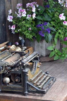 I have two typewriters like this one, I think I will put them out on display...