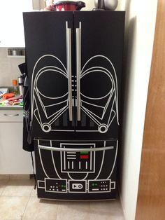 Vinil de Darth Vader para refrigerator