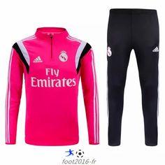 Site Officiel Nouveau survetement equipe de foot Real Madrid Rose 2015 2016 paris pas cheres decathlon