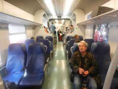 Leonardo Express Rome Airport Train Interior