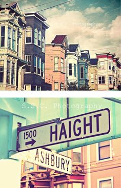 Photography urban people san francisco 56 Ideas for 2019 Vintage California, California Dreamin', Northern California, San Francisco, Woodstock, Haight Ashbury, Road Trip, Thing 1, Street Signs