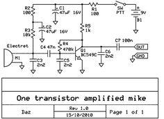 Microphone Preamp Circuit Circuit Diagram Circuit