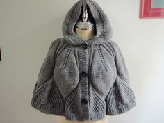 Capelet with Hood.