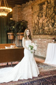 Gorgeous strapless gown: http://www.stylemepretty.com/little-black-book-blog/2015/07/28/romantic-floral-filled-wedding-at-the-bowery-hotel/ | Photography: Cly by Matthew - http://www.clybymatthew.com/