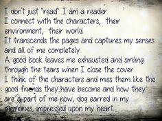 I am a reader