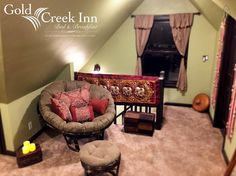 Gold Creek Inn B&B A-Zen Loft - Bed and breakfasts for Rent in Nevada City, California, United States Nevada City, B & B, Bed And Breakfast, Perfect Place, Condo, Loft, Lofts, Attic Rooms, Mezzanine