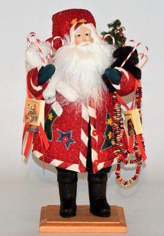 """Candy Cane Santa No.# 1388 $ 330:00 Yr.1998 /18"""""""
