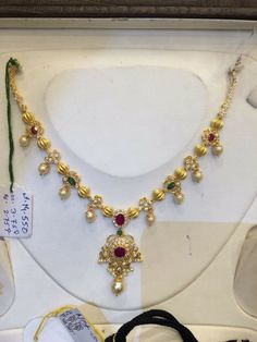 1.5 thulas simple necklace