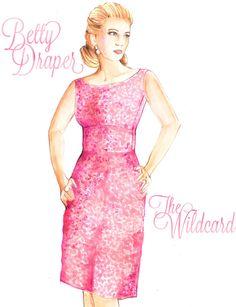 mad men Betty Draper, Mad Women, Mad Men Fashion, Dress Making, Engagement Session, Magazine Layouts, Inspiration, Dresses, Illustration