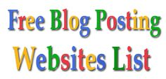 If you are the one who has the access to top of the blog submission site then you are very much aware that how to get quality page rank with the help of blogging. These kind of the high PR blog submission site helps the business owner to get great traffic from various inter-linked sources.