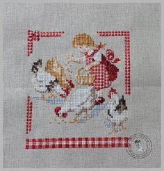 Cross Stitch For Kids, Cross Stitch Kitchen, Cross Stitch Animals, Beaded Cross Stitch, Counted Cross Stitch Patterns, Cross Stitch Embroidery, Cross Stitch Cushion, Cross Stitch Pictures, Le Point