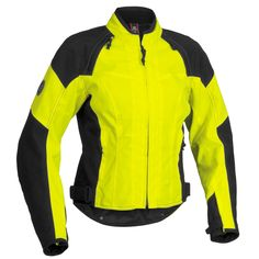 Firstgear Womens Contour Tex Dayglo Jacket