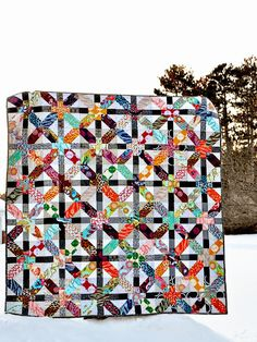 Badskirt's Japanese x and + quilt tutorial,