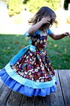 BeLLa PrInCeSS Dress  pdf Pattern  sizes 12M  by FemiKidsCouture, $7.95