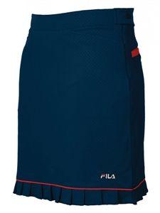 Fila Golf women's malaga golf skort in Navy/Red Slimming!
