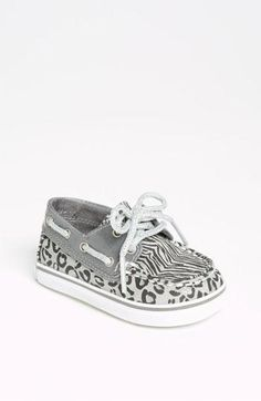 Sperry Top-Sider® 'Bahama' Crib Shoe (Baby) Love it! My Little Girl, My Baby Girl, Little Babies, Cute Babies, Baby Girls, Crib Shoes, Baby Shoes, Baby Sperrys, Baby Leopard