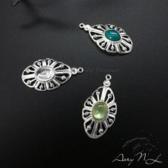 1pcs 925 Sterling Silver Pendant Setting Gallery for by AoryNL