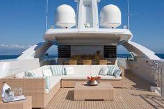 luxury yacht charter maraya sundeck