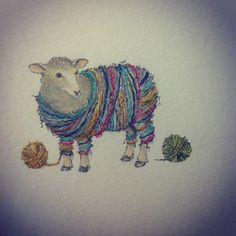 So many choices. Knitting Quotes, Knitting Humor, Crochet Humor, Sheep Art, Sheep Wool, Knit Art, Sheep And Lamb, Yarn Bowl, Yarn Bombing