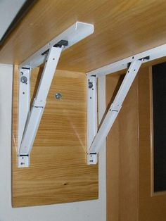 Wall mounted hinged counter top   For the Home   Laundry room, Laundry table, Laundry folding tables