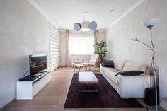 Obývačka v minimalistickom duchu
