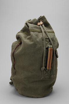 // Canvas Duffle Backpack | Urban Outfitters