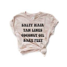 SALTY HAIR & TAN LINES