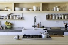 #love those shelves Dream kitchen  Like, share Thanks     http://www.linksbuffalo.com/place/open-air-autobus-of-buffalo/
