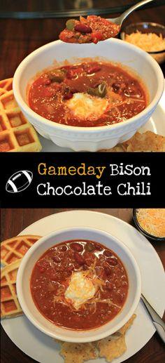 Gameday Bison Chocolate Chili