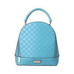 PIERRE CARDIN Blue 2 in 1 Handbag - MyaBelle - 1 Pierre Cardin, Fashion Backpack, Backpacks, Handbags, Blue, Collection, Leather Bags, Women, Style