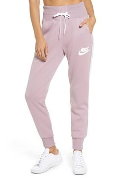 new arrivals a118a 01a5f Hit the town or kick back at home in high-waist joggers made with comfy
