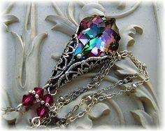 New Swarovski Electra Coated Crystal Baroque by HisJewelsCreations, $34.00