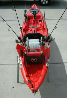 I want this kayak setup!