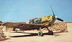 The Messerschmitt Bf 109 was a single-seat fighter aircraft used by Germany and many of her...