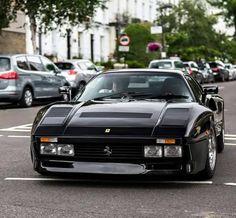 Black Ferrari 288 GTO