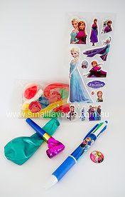 Frozen Party www.smallfavours.com.au Kids Party Bags|Loot Bags|Lolly Bags|Complete Party Bags|Favours