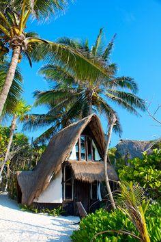 Cabana Maya (Bungalow) - PLAYA SELVA | HOUSE & BUNGALOWS ON THE BEACH