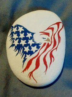 Eagle flag shape flag