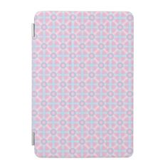 Cute Pink Purple & Light Blue Pattern iPad Mini Cover - light gifts template style unique special diy