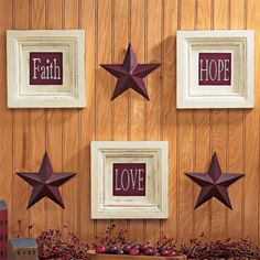 country wall decor | ePier - BRAND NEW 6-Pc. Country Wall Decor ~ GREAT GIFT