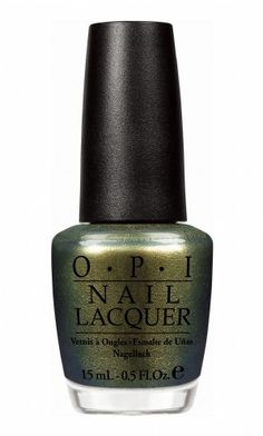 OPI Just Spotted the Lizard http://www.bathandunwind.com/brands/OPI/spiderman/Spiderman-by-OPI-Just-Spotted-the-Lizard.htm#