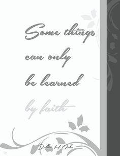 Dallin H. Oaks - April 2016 LDS General Conference #lds #ldsconf #quotes